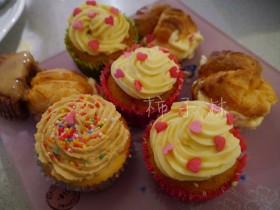 ��ɫparty cup cake